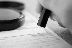 融資の契約書