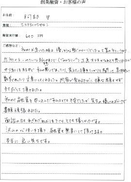 東京都港区 エステティックサロン 融資金額600万円